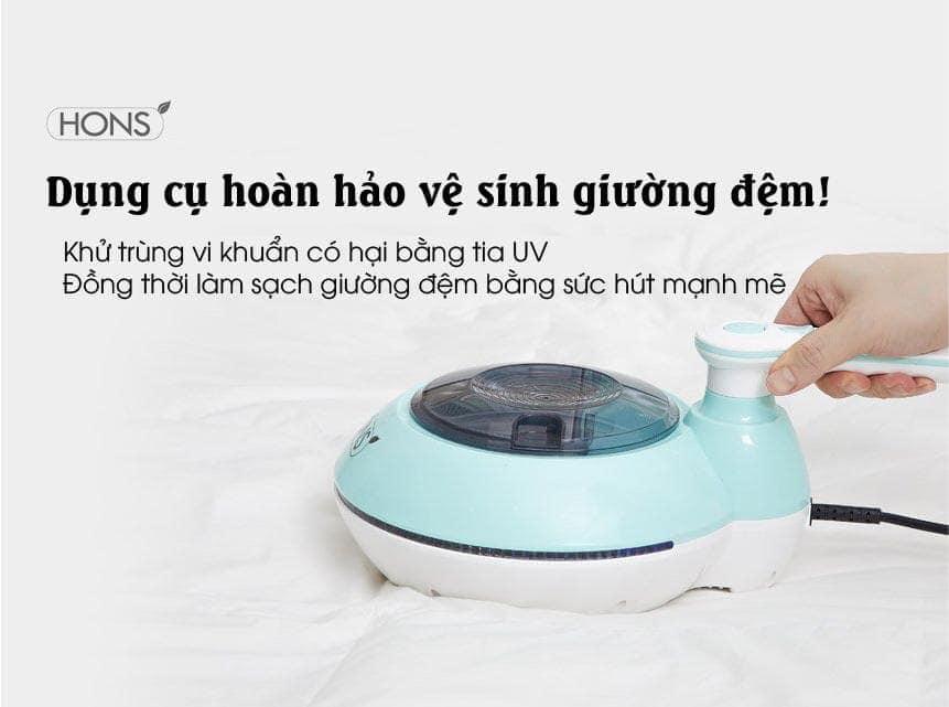 Hons 2100 khử khuẩn giường nệm bằng tia UV